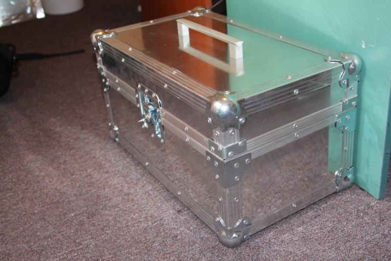 Ящик для инструмента из алюминия своими руками 32