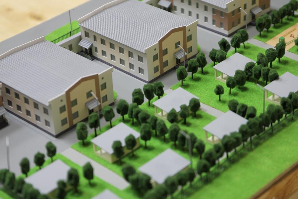 Макет территории детского сада