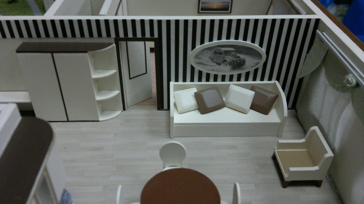Как сделать макет мебели 1