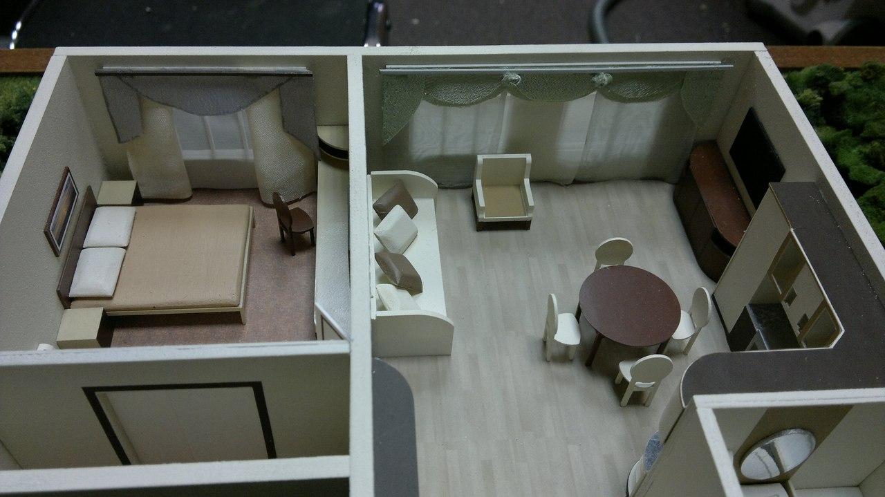 Как сделать макет мебели 81
