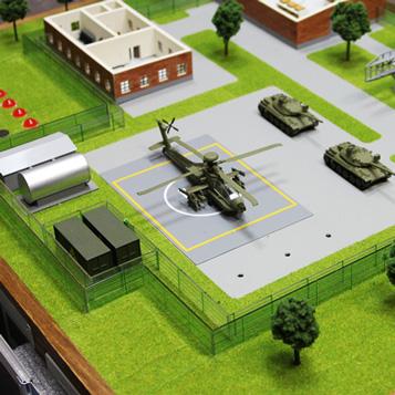 Военная база своими руками